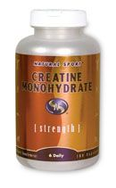 Creatine Monohydrate (180 caps) Natural Sport