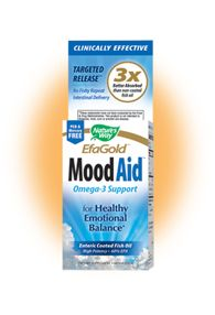 EFA Gold - Mood Aid (60 softgels) Nature's Way