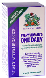 Every Woman's One Daily (90 Tabs) New Chapter Nutrition