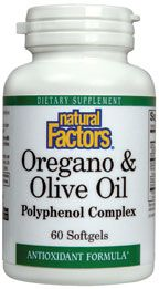 Oregano & Olive Oil (60 Softgels)* Natural Factors