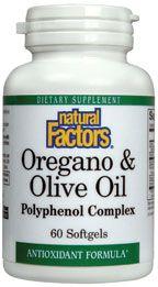 Oregano & Olive Oil (60 Softgels)* Natural Factors