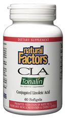 CLA Tonalin 1000mg (90 softgels)* Natural Factors