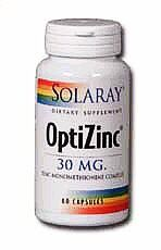 OptiZinc 30 mg (60 Caps) Solaray Vitamins