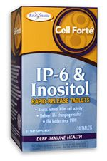 Cell Forte IP-6 & Inositol (120 Veg Capsules) Enzymatic Therapy