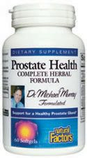 Prostate Health Formula (60 Caps)* Natural Factors