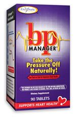 BP Manager (90 tabs) Enzymatic Therapy