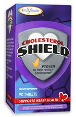 Cholesterol Shield (90 tabs) Enzymatic Therapy