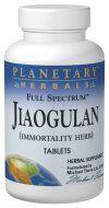 Full Spectrum Jiaogulan 375 mg (60 Tabs) Planetary Herbals