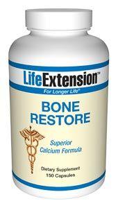 Bone Restore (120 Caps) * Life Extension