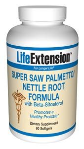 Super Saw Palmetto/Nettle Root Formula *(60) Life Extension