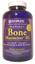 Bone Maximizer III (150 caps) Metabolic Response Modifiers
