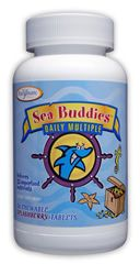 Sea Buddies Daily Multi (Splashberry 60 Chewable Tabs) Enzymatic Therapy