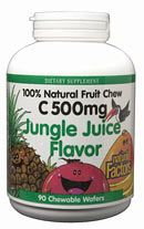 Big Friends Chewable Jungle Juice (90 Tabs)* Natural Factors