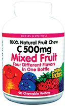 Big Friends Chewable, Mixed Fruit (90 Tabs)* Natural Factors