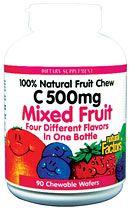 Big Friends Chewable, Mixed Fruit (90 Tabs)* Natural Factors