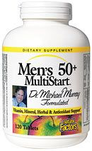 MultiStart for Men 50 plus (120 Tabs)* Natural Factors
