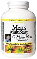 Men's MultiStart (120 Tabs)* Natural Factors