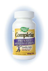 Completia Prenatal (240 Tabs) Nature's Way