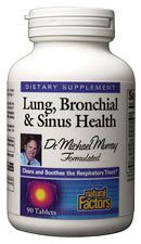 Lung Bronchial and Sinus Health (90 tabs)* Natural Factors