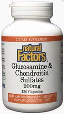 Glucosamine 500mg & Chondroitin Sulfates 400mg (120 Caps)* Natural Factors