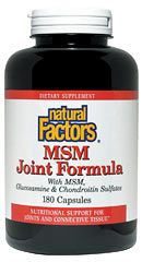 MSM Joint Formula (180 Caps)* Natural Factors