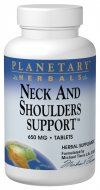 Neck and Shoulders Support (60 tabs) Planetary Herbals