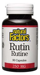 Rutin 250mg (90 Caps)* Natural Factors