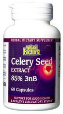 Celery Seed Extract (60 Caps)* Natural Factors