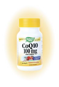 CoQ10 100mg (30 caps) Nature's Way