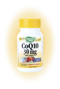CoQ10 60mg (60 Caps) Nature's Way