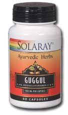 Guggul Gum Extract (60 caps) Solaray Vitamins