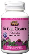 Liver & Gall Cleanse (90 caps)* Natural Factors