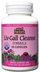 Liver & Gall Cleanse (90 caps)* Natural Factors
