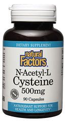 NAC (N-Acetyl-L-Cysteine) 500mg (90 Caps)* Natural Factors