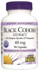 Black Cohosh Extract (90 caps)* Natural Factors