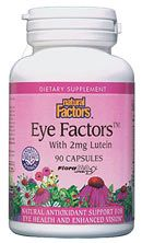Eye Factors with Lutein (90 Caps)* Natural Factors