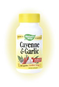 Cayenne & Garlic (100 Caps) Nature's Way