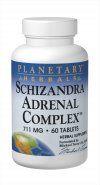 Schisandra Adrenal Complex (60 Tabs) Planetary Herbals