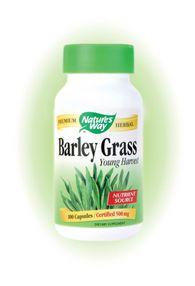 Barley Grass (100 Caps) Nature's Way