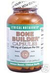 Bone Builder Capsules (120 caps) Ethical Nutrients