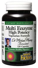 Multi Enzyme High Potency (120 Vcaps)* Natural Factors