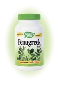 Fenugreek Seed (180 caps) Nature's Way