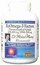 RxOmega-3 Factors (120 softgels)* Natural Factors