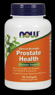 Prostate Health Clinical Strength (90 softgels) NOW Foods