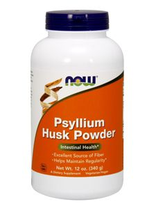 Psyllium Powder Unflavored (12oz) NOW Foods