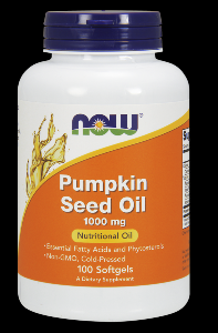 Pumpkin Oil (100 softgels 1000 mg) NOW Foods