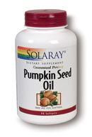 Pumpkin Seed Oil (90 softgels) Solaray Vitamins
