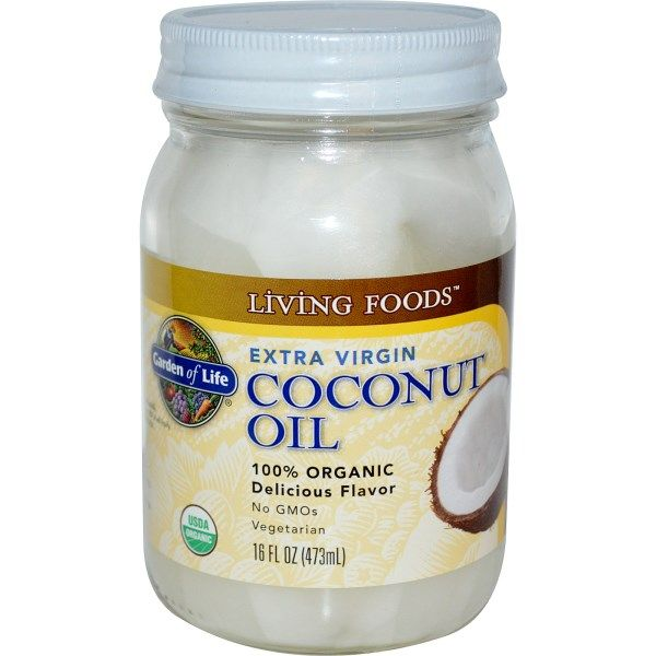 Extra Virgin Raw Coconut Oil  (16oz Oil) Garden of Life
