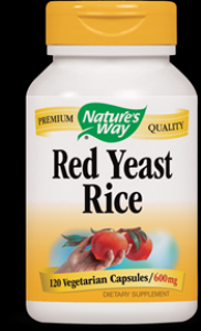 Red Yeast Rice  ( 120 Vcaps ) Nature's Way