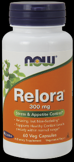 Relora 300 mg (60 vcaps) NOW Foods